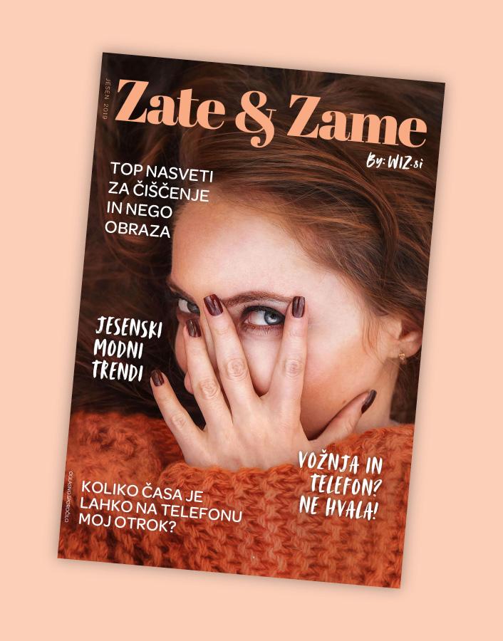 naslovnica revije zate in zame, poletje 2019