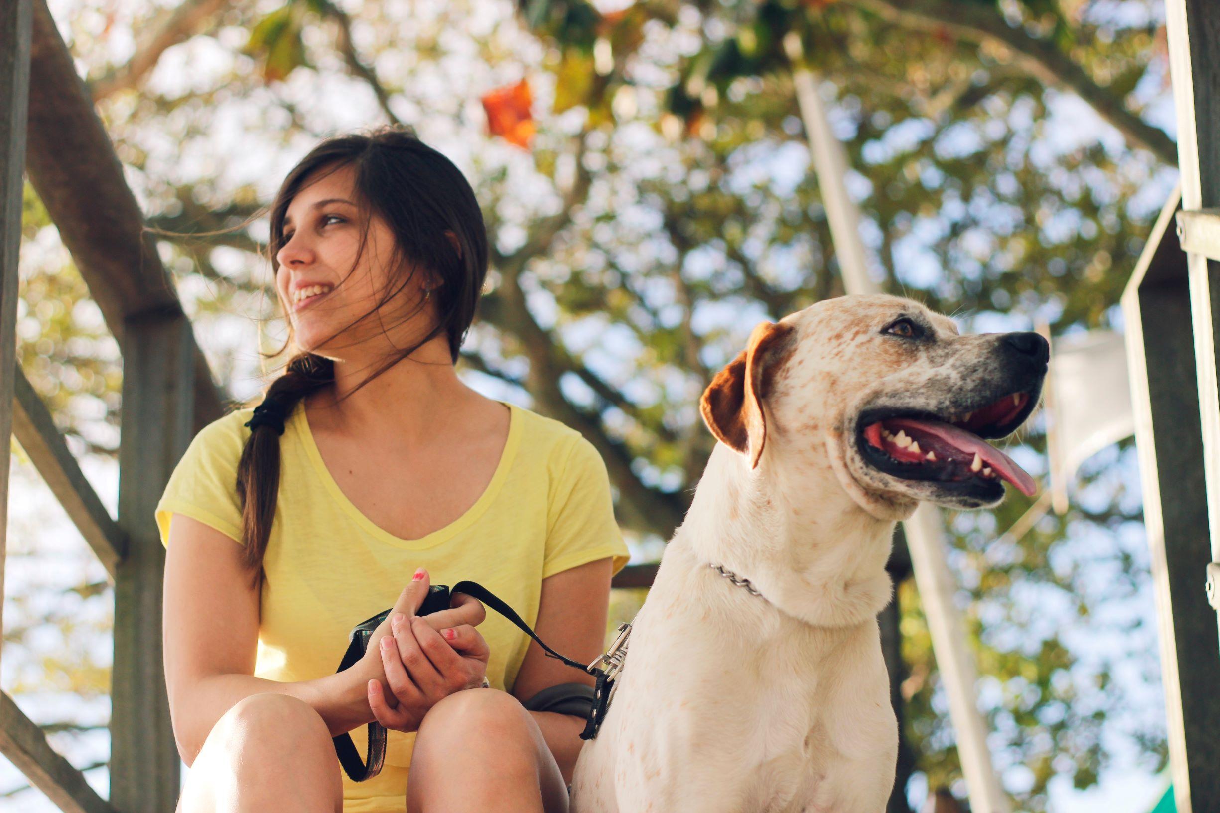 Ženska s psom