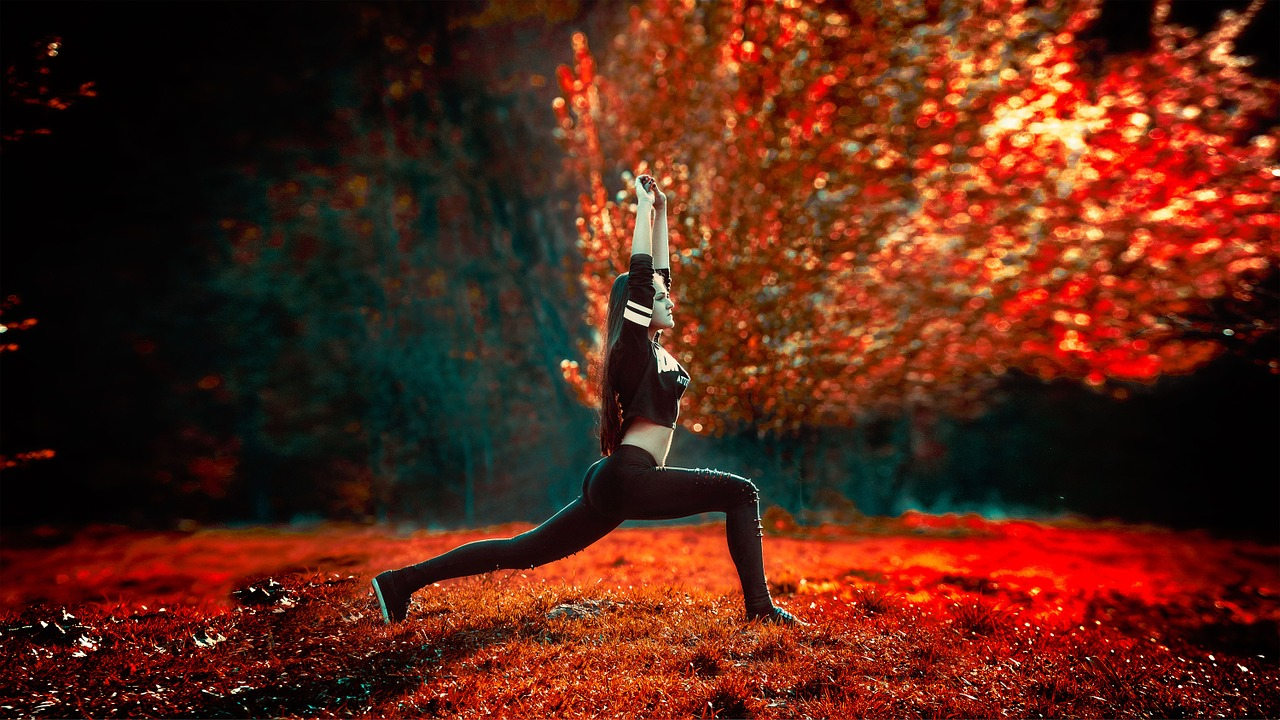 Izvajanje joge zgodaj zjutraj