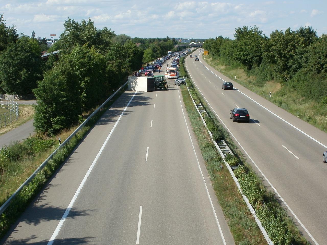 Prometna nesreča na avtocesti