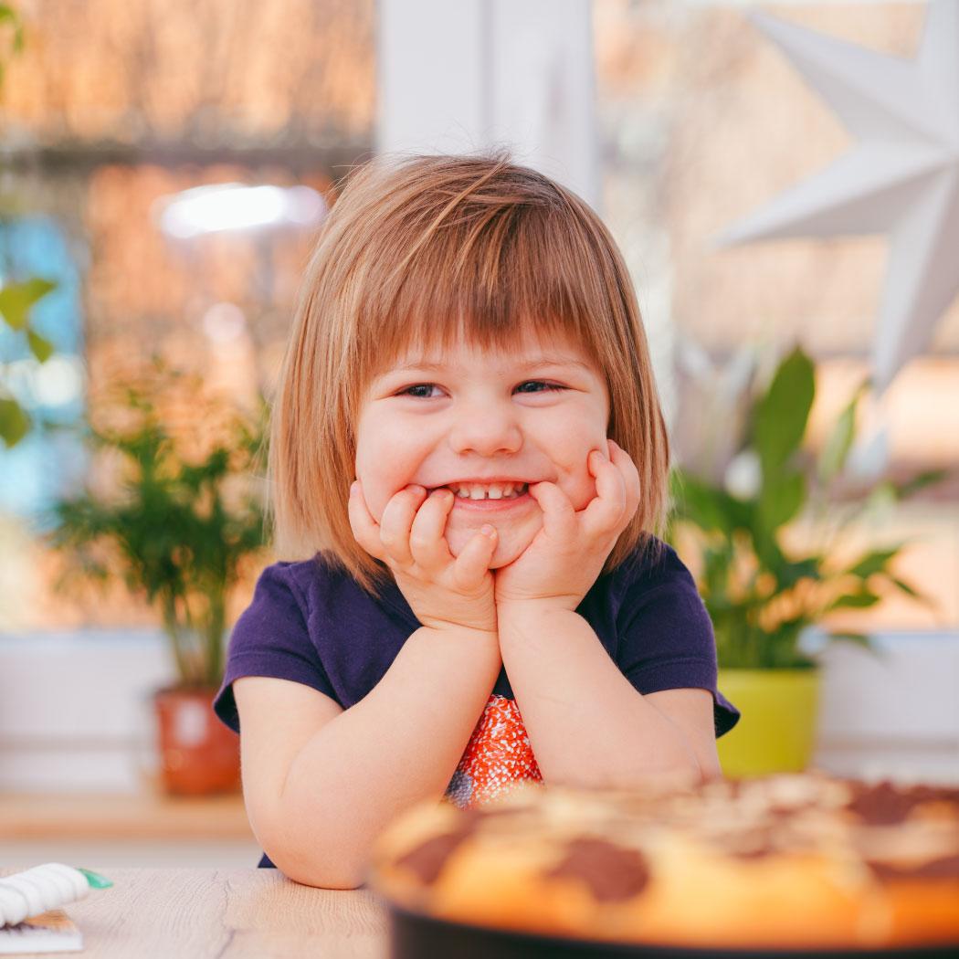 nasmejana punčka, wiz blog, rutina otroka