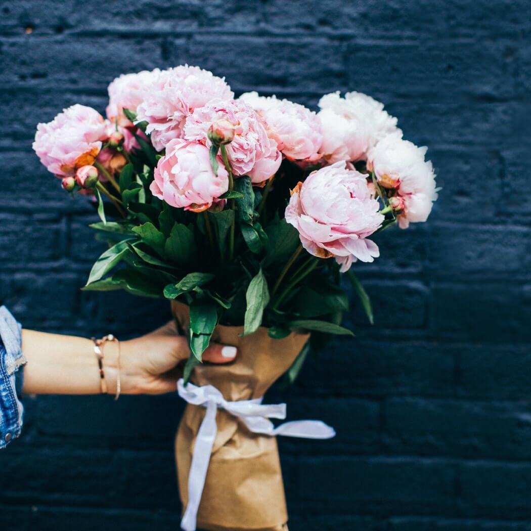 šopek roza cvetlic
